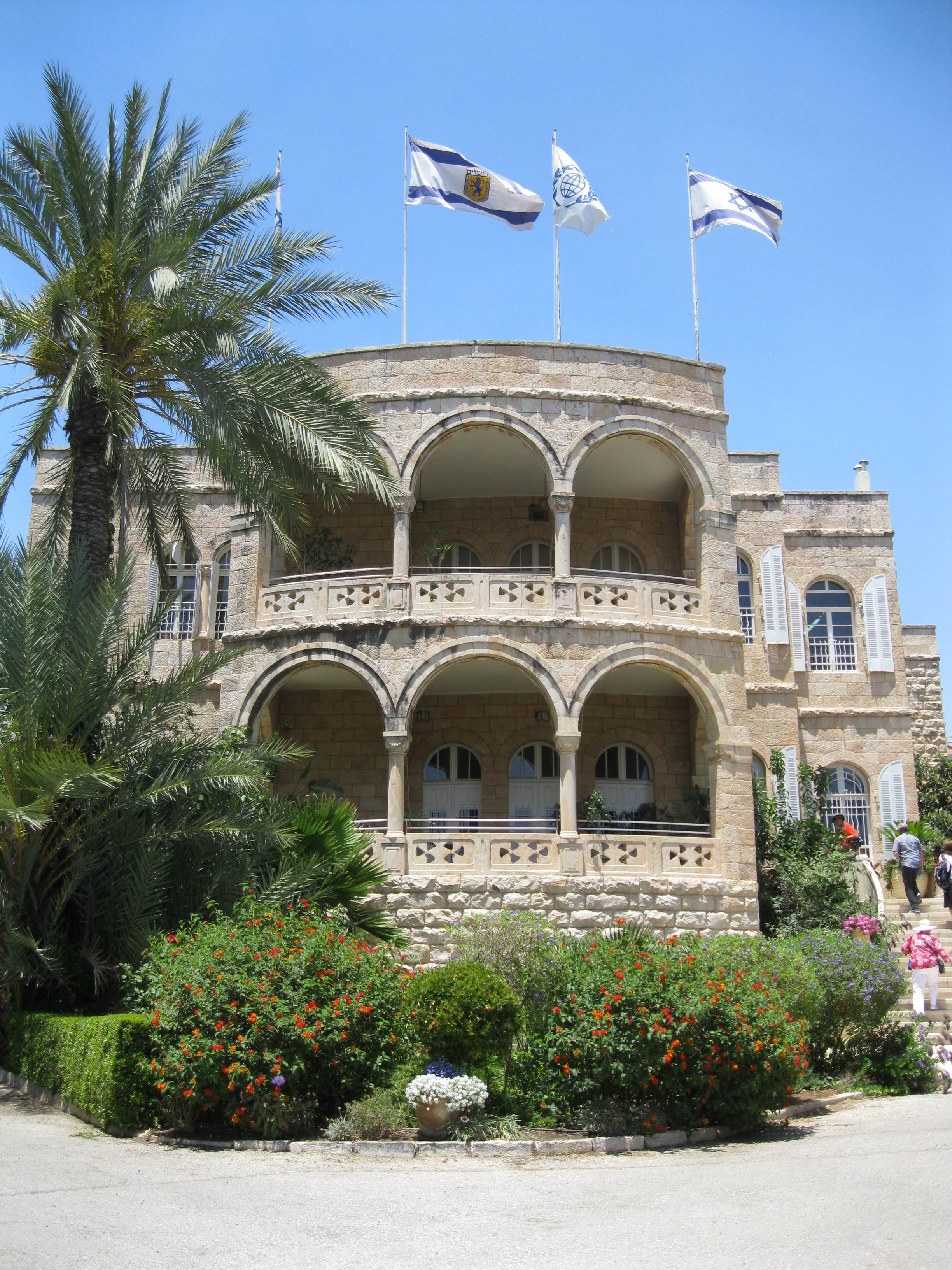 International Christian Embassy Jerusalem headquarters office