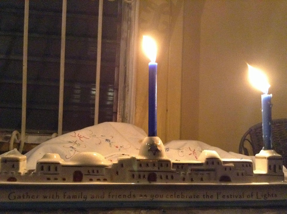 Chanukah Candle Day 1
