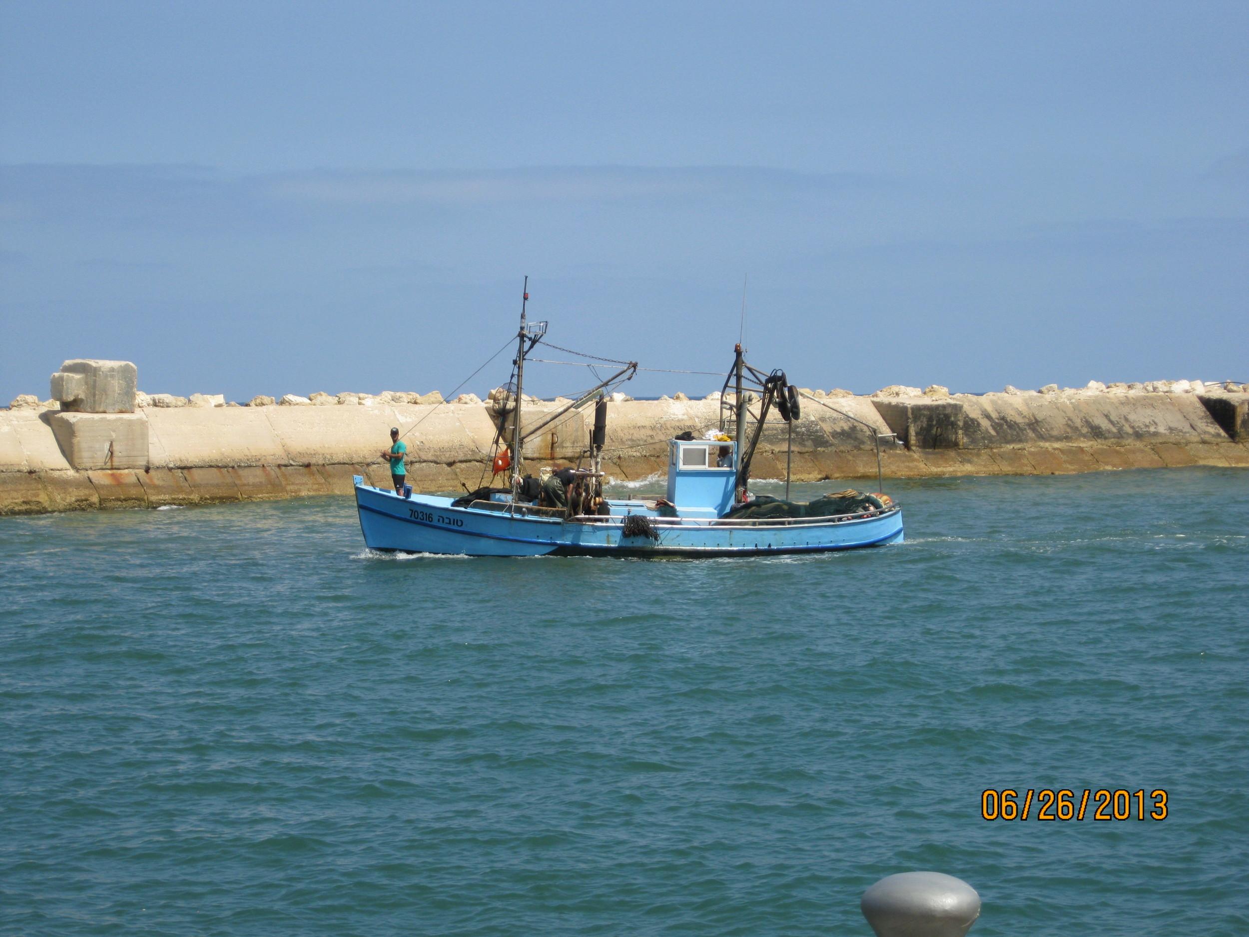 Fishing Boat in Joppa