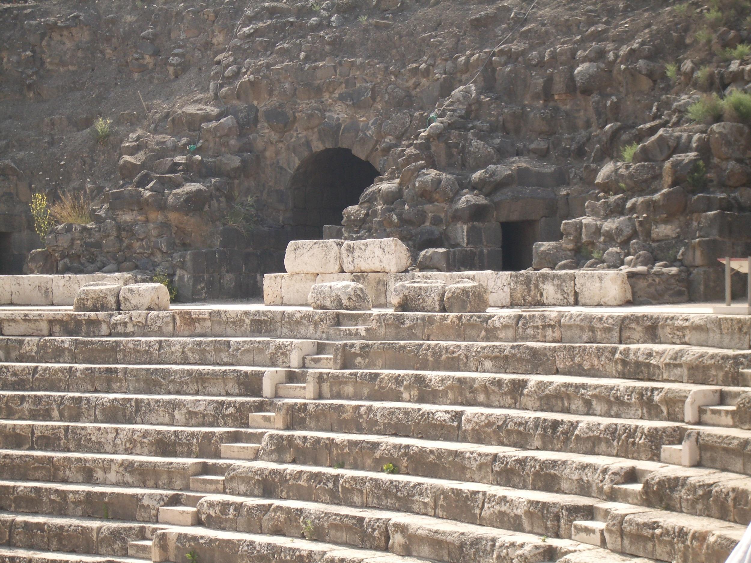 Theatre at Bet Sh'ean