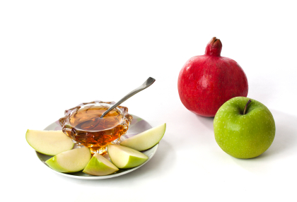 Apples and Honey are a tradition of Rosh HaShanah