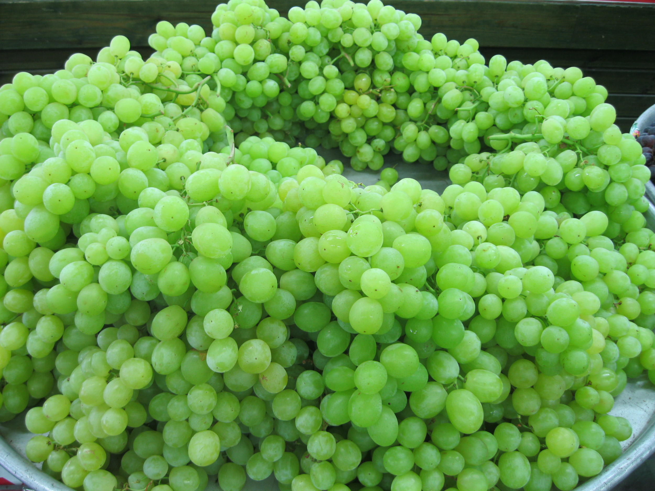 Delicious grapes from Nazareth