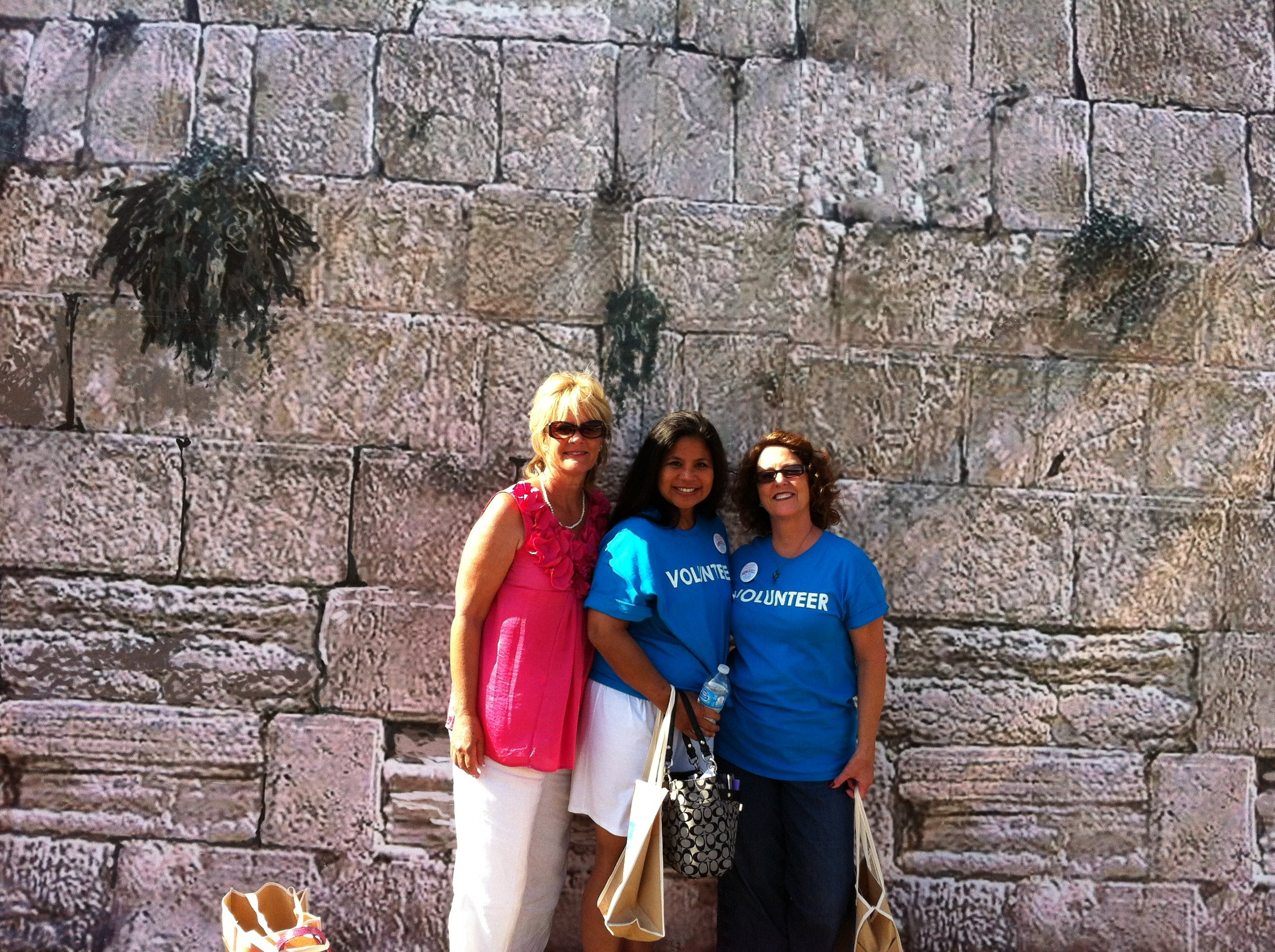 Volunteering at the Israel Expo 2012