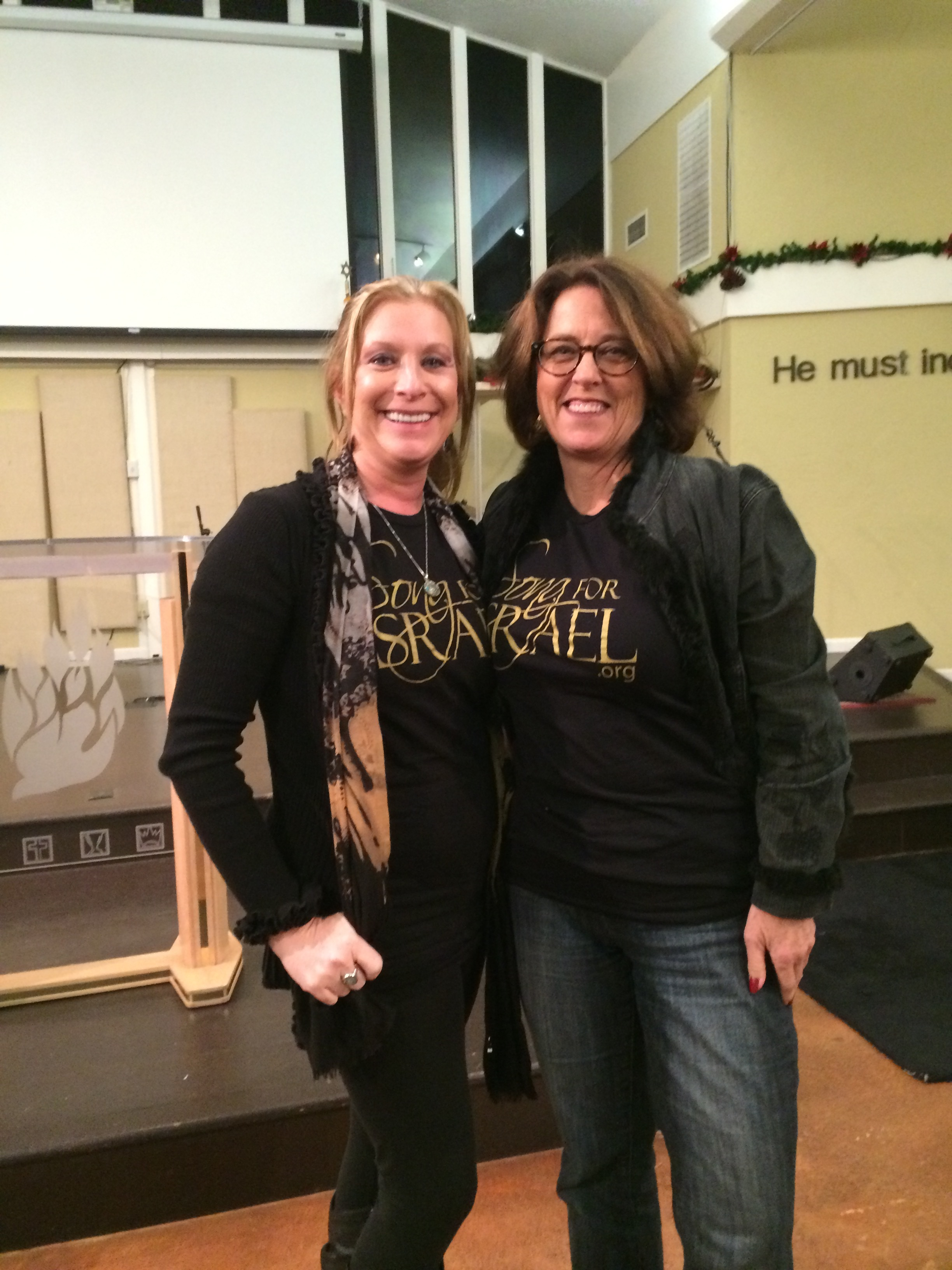 Special event with Sally Shiff at Ben David Messianice Jewish Congregation 2015