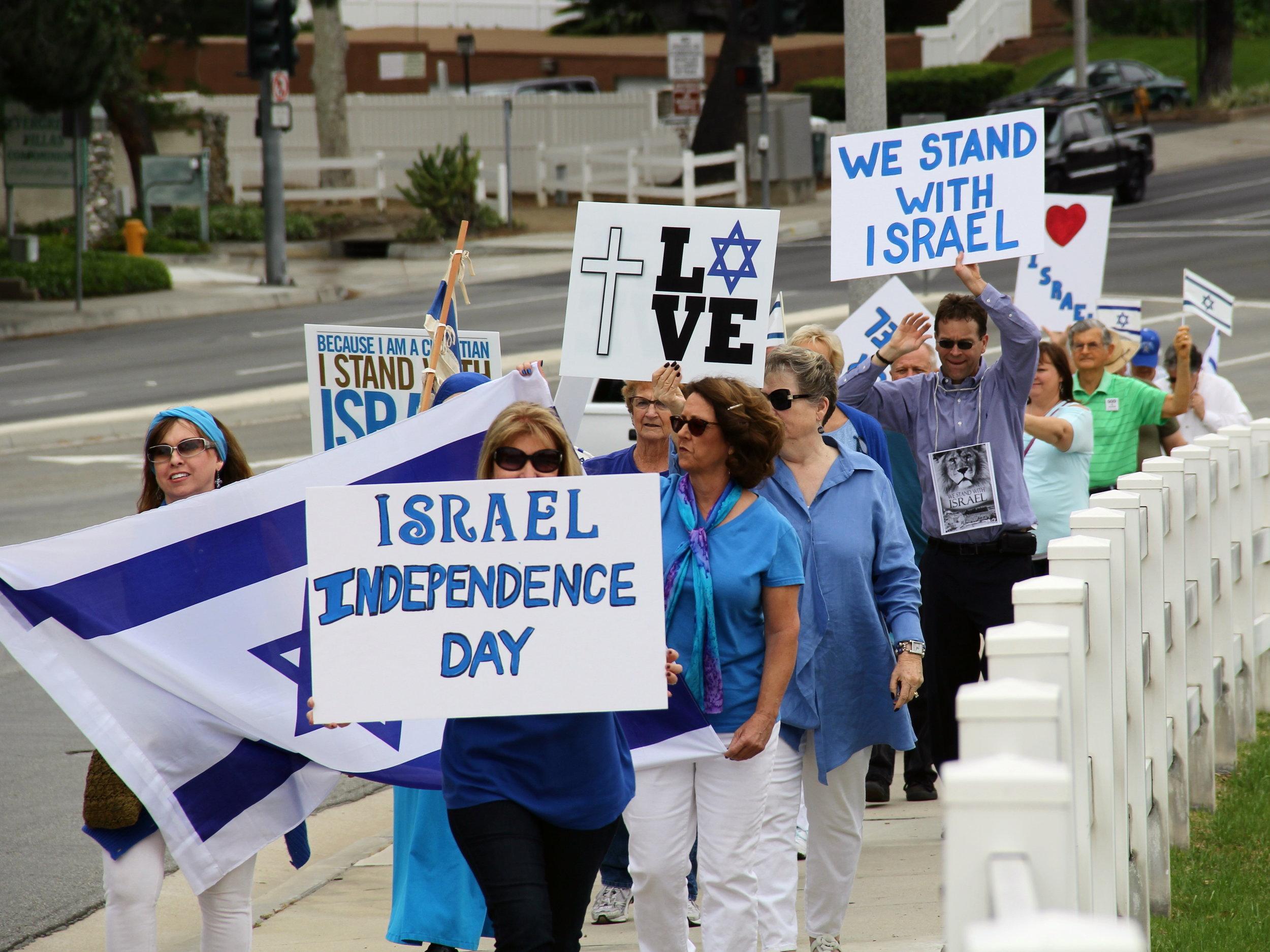 Walk For Israel 2015