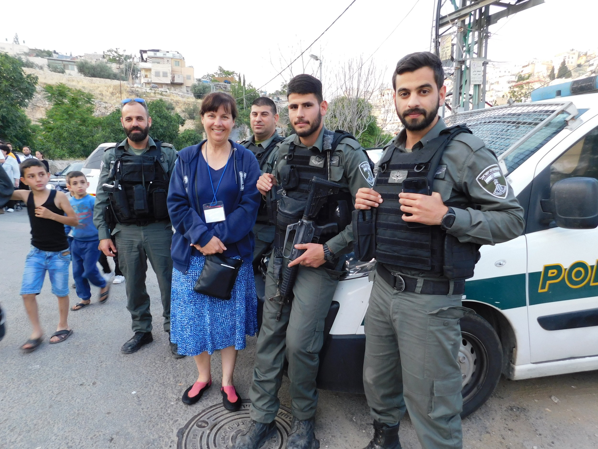 The Israeli Defense Force love having their picture taken with us