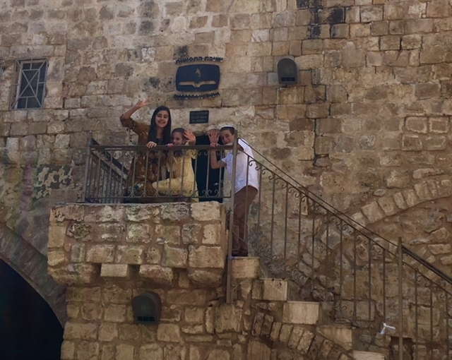 Children playing in the Old City