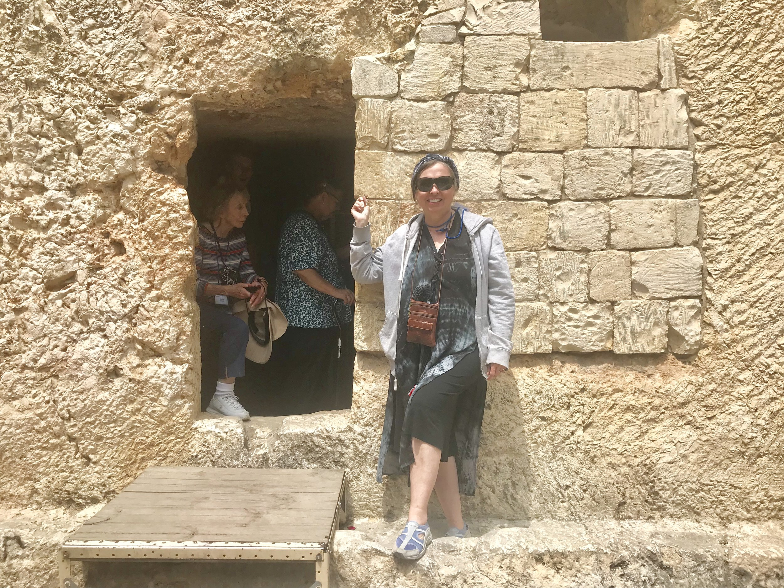 At the Tomb Entrance