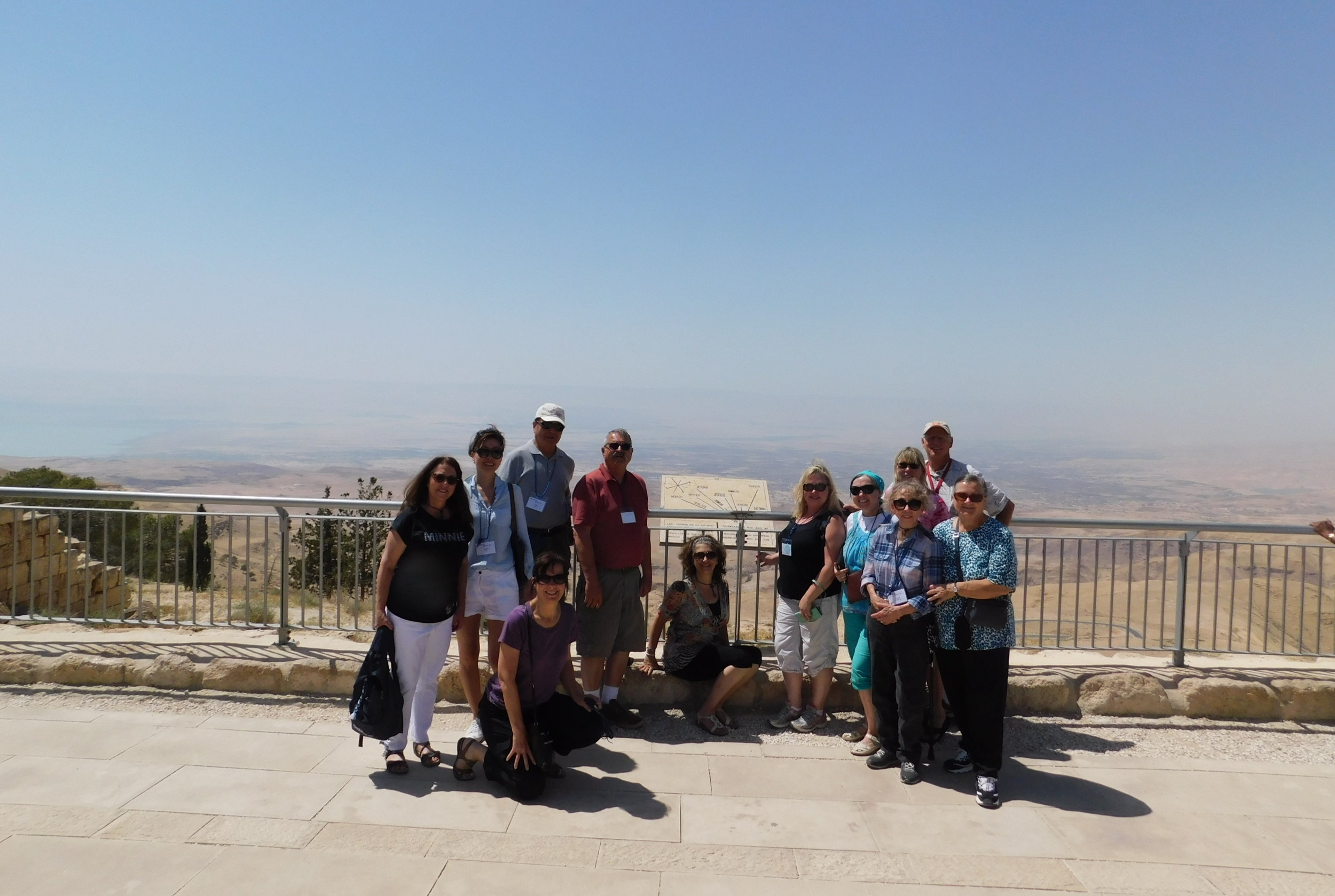 Mt. Nebo, where Moses looked at the Promised Land.