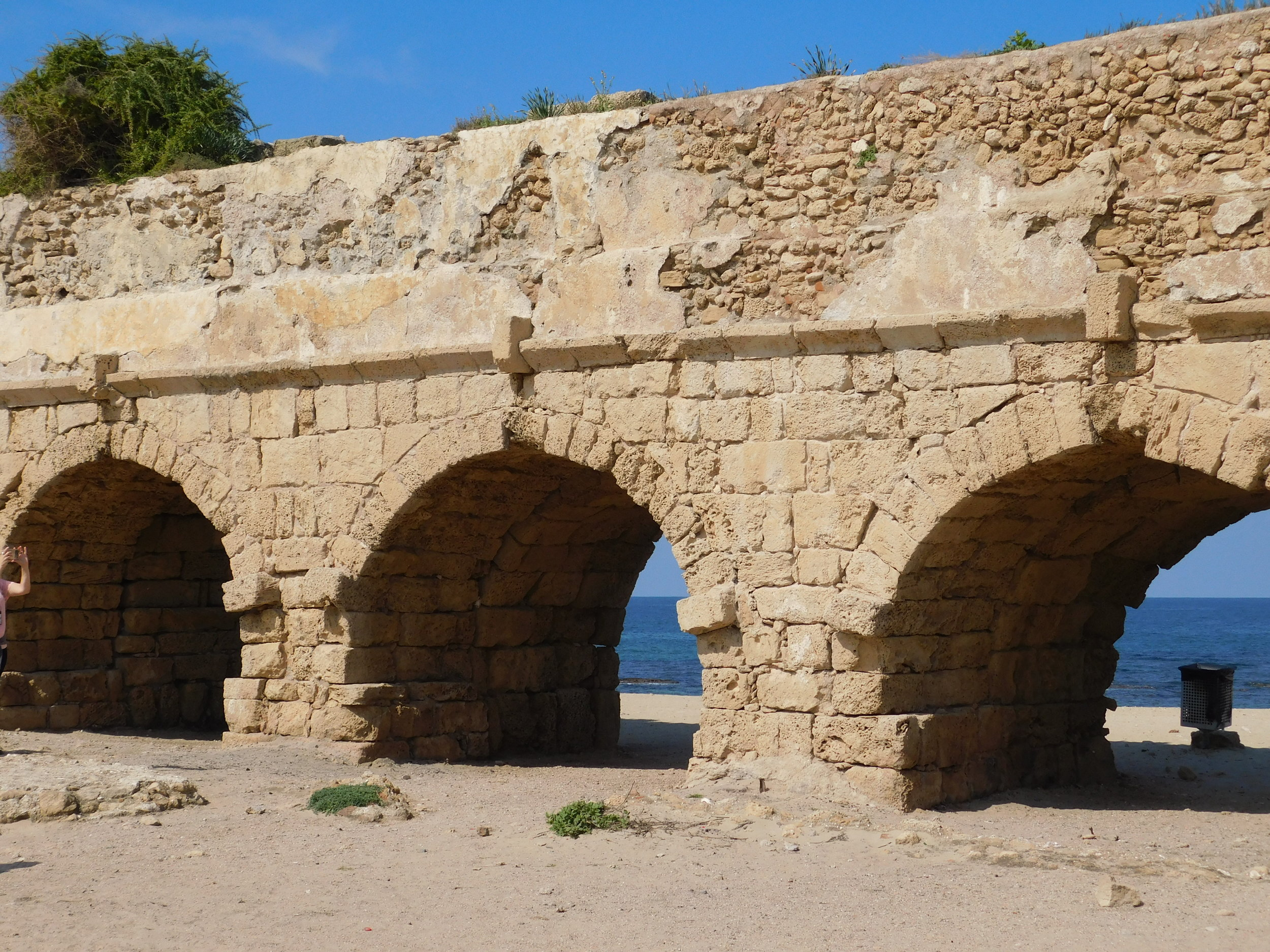 Aquaduct built by Herod