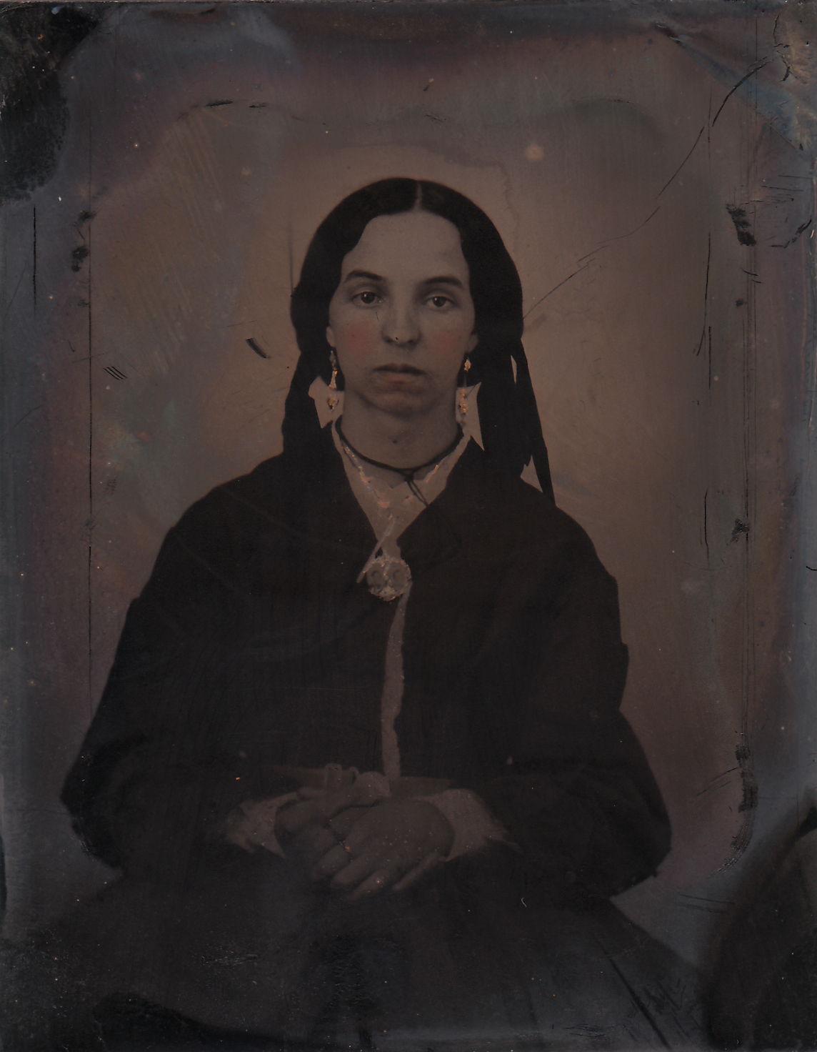 Saint Bernadette (Our Lady of Approved Apparitions); Bernie_1871 Appx. Our Lady of Approved Apparitions was awarded  Time Capsule Status  in 2003 Found Tintype, 2015