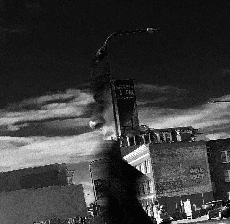 Berkeley Pan_10  Photograph, 30 January, 2016;  Copyright © Tennyson Woodbridge, 1963 to present