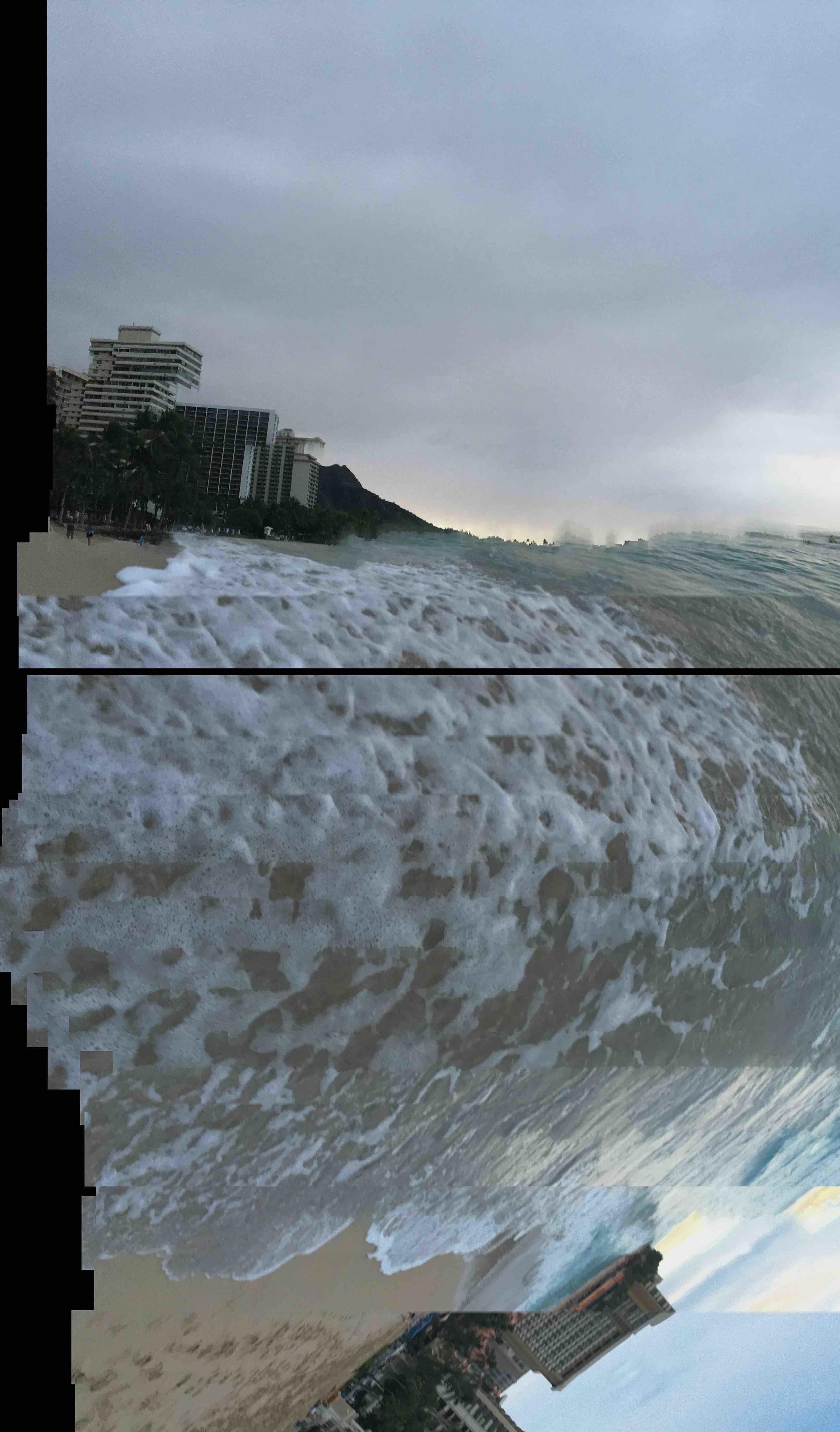 Waikiki Beach,20 January 2016_6  Photograph c  opyright © Tennyson Woodbridge, 1963 to present
