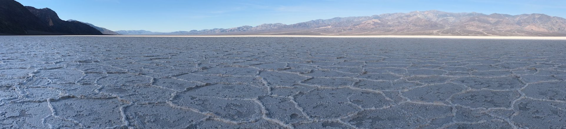 Badwater Basin 5 May, 2018; 7:22 AM Copyright © Tennyson Woodbridge, 1963 to present