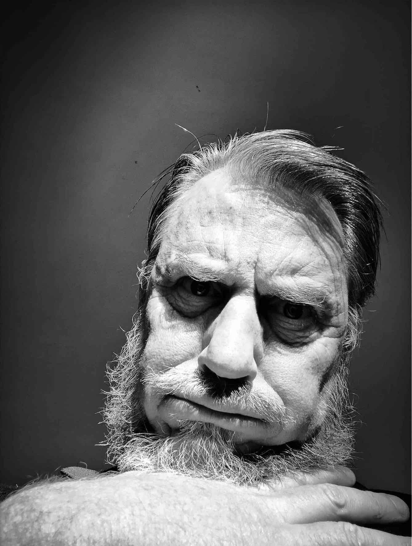 Et Tu Brute?  Persona Portrait, 2018  Copyright © Tennyson Woodbridge, 1963 to present