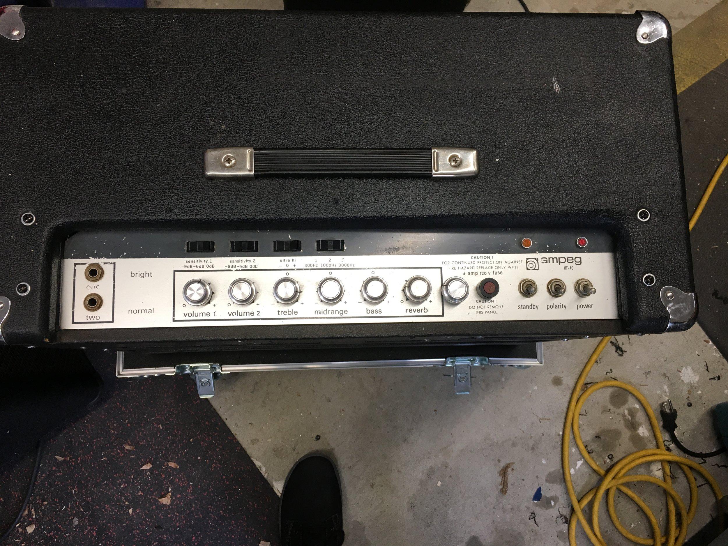 Ampeg VT-40 Top Load