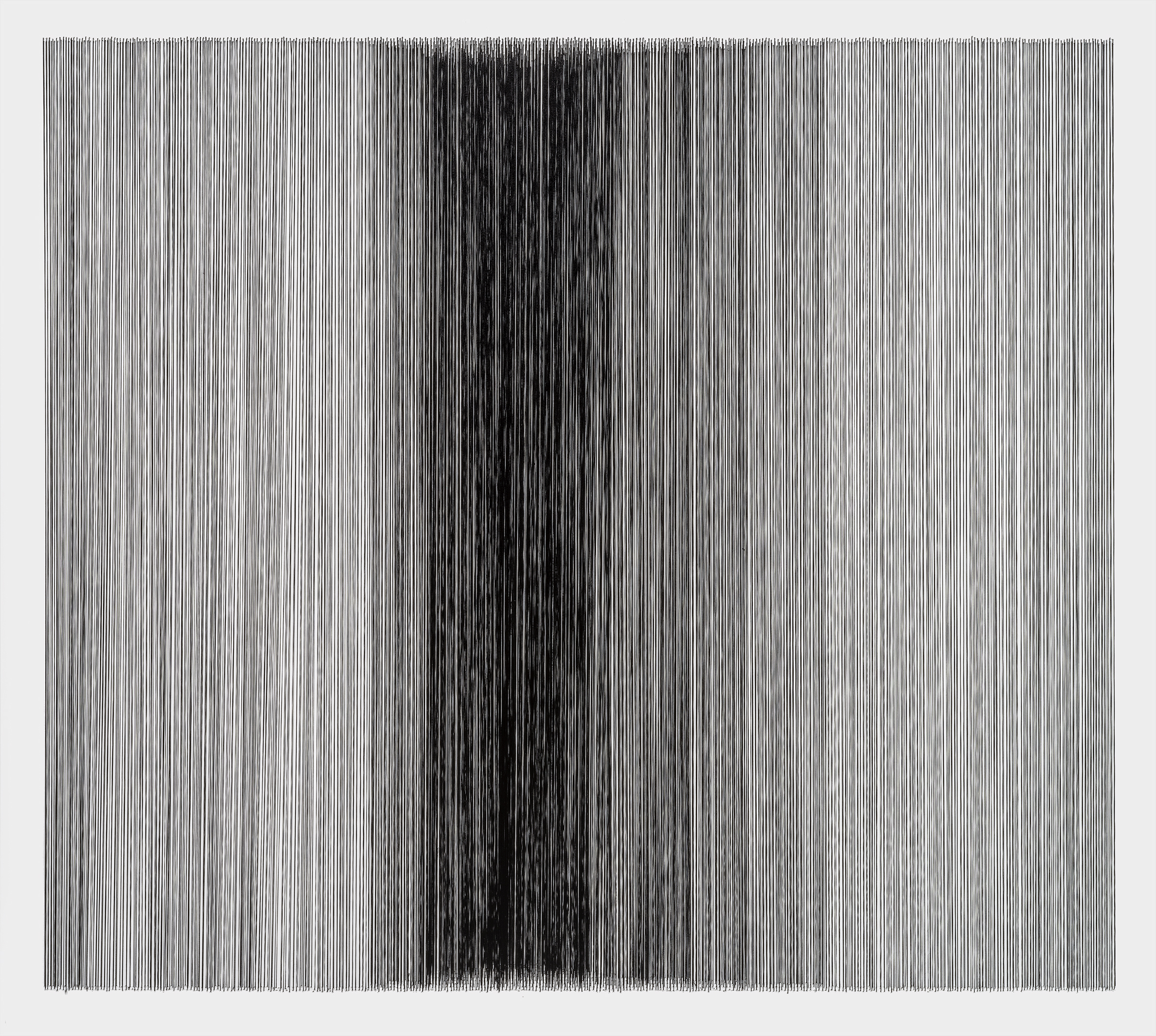 thread drawing 20  2013 rayon thread 31 by 28 inches