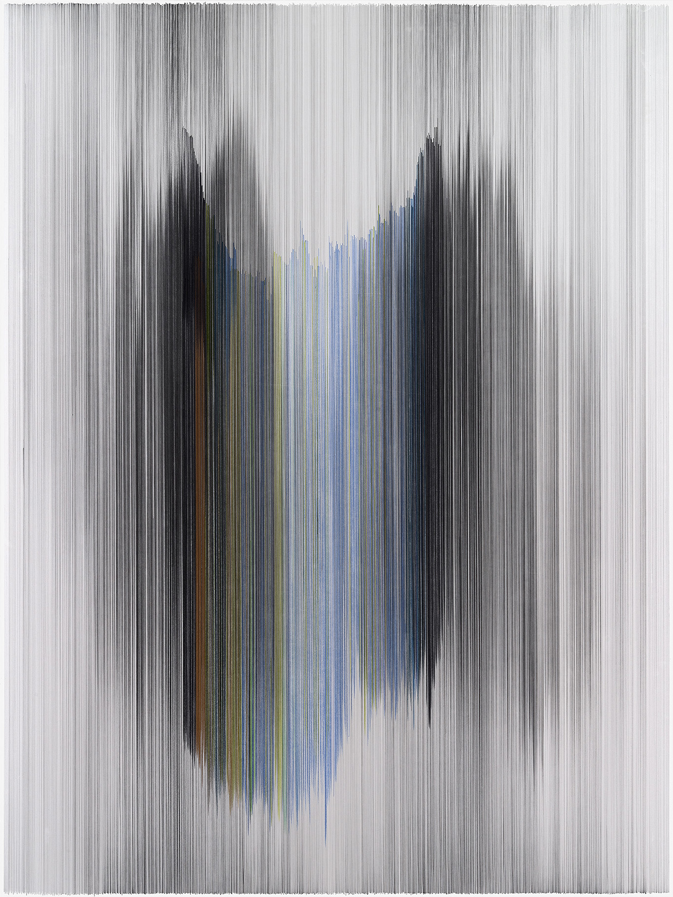 parallel 47  2014 graphite & colored pencil on mat board 60 by 80 inches Bill & Kristi Gautreaux Collection, Kansas City, MO