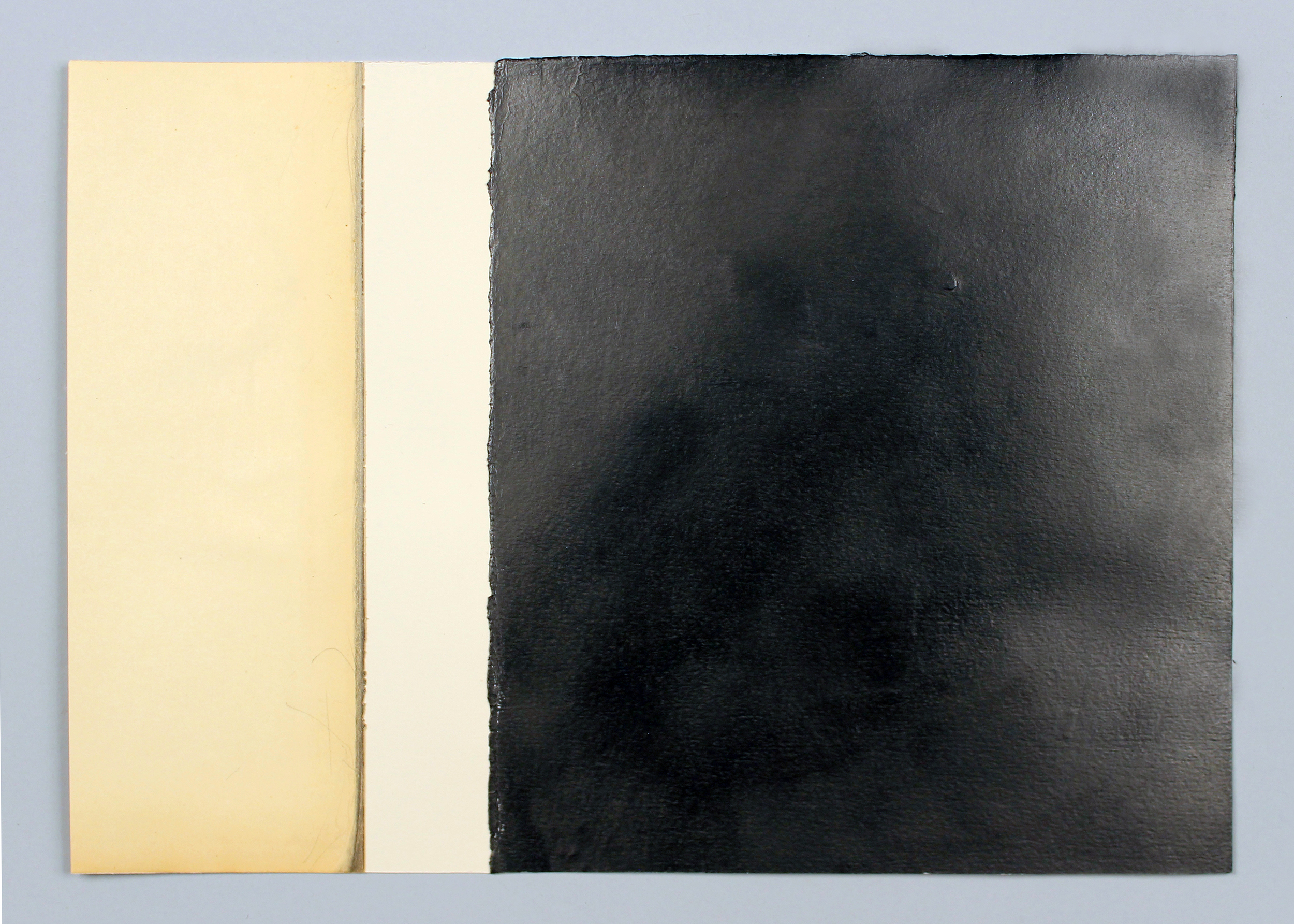 """Sala Rotunda  Found object, graphite powder and archival wax on Fabriano Rosaspina paper, 14.25"""" x 17.25"""" (framed), 2012-2013"""