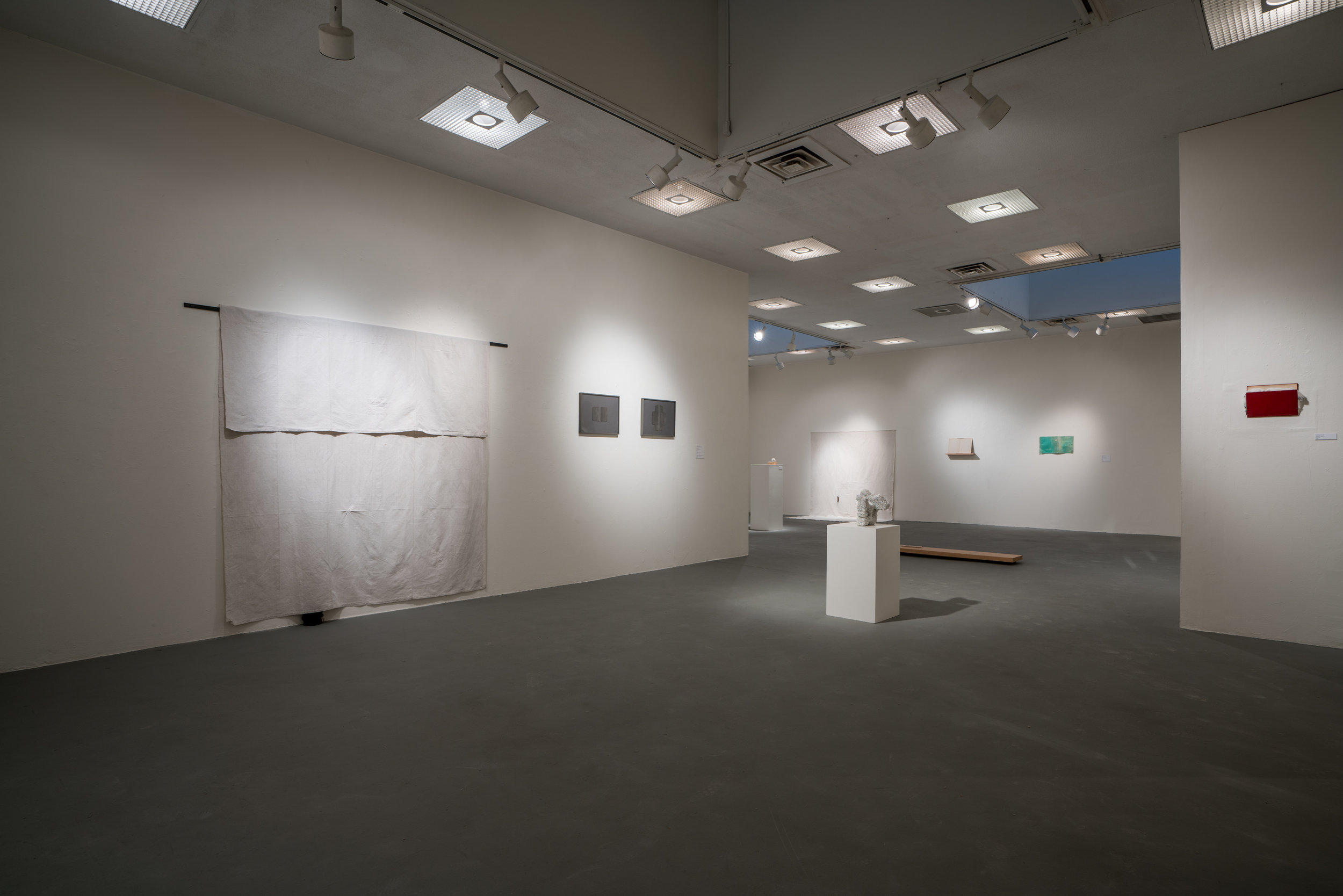 Between Them  installation shots, Silver City, New Mexico, 2018