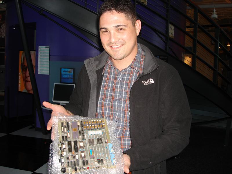 James Savage, host of RetroMacCast