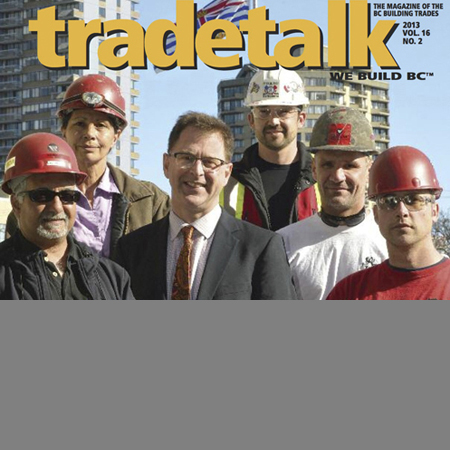 """Trade Talk Article   """"Walk for Truth - Powell River"""""""