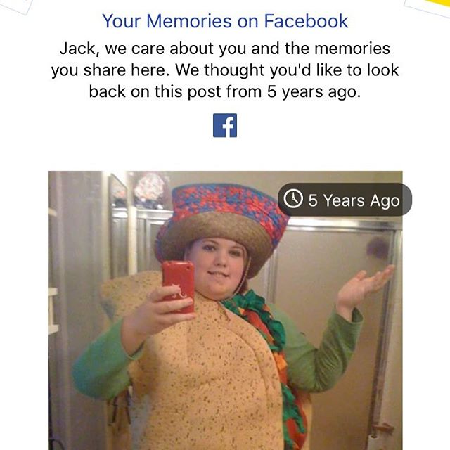Facebook taking me on a real trip down memory lane.
