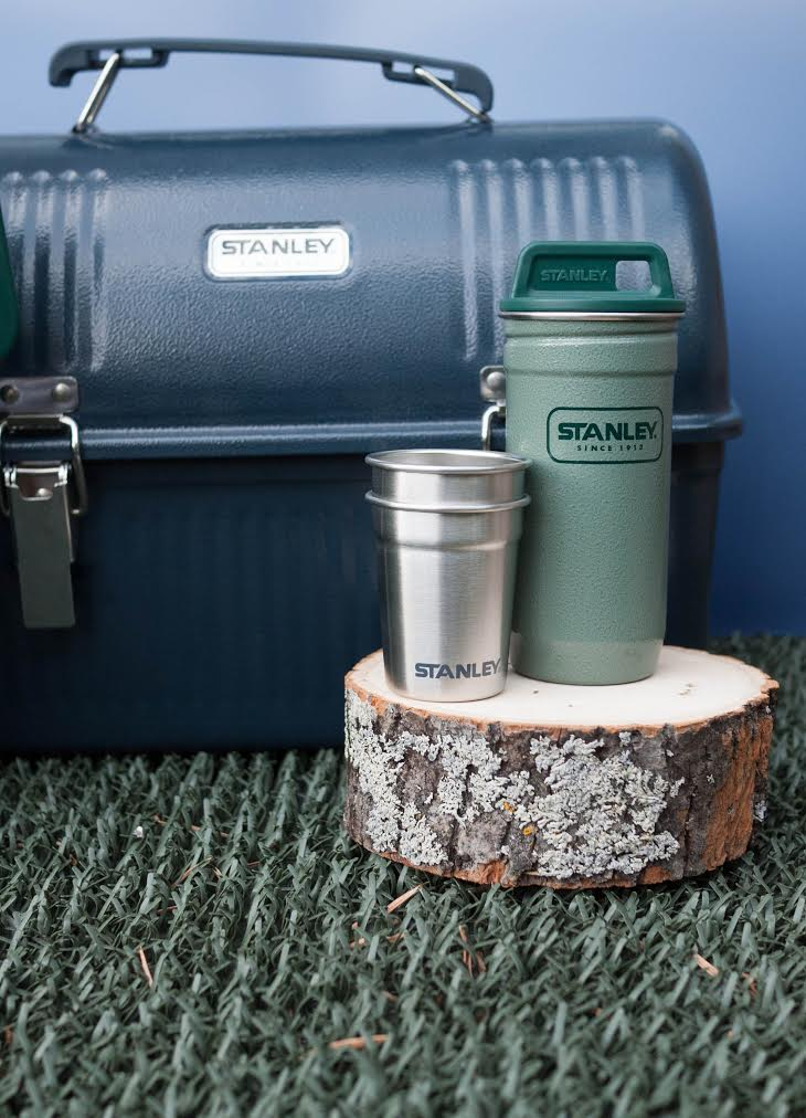 Handy carrier for picnic and drinking supplies - the Stanley lunch box!