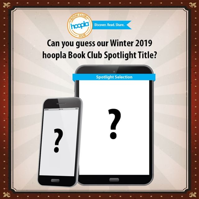 Did you guess the #hooplabookclub spotlight title? Head over to the #hooplabookclubhub (link in bio!) for the announcement and to borrow the ebook or audiobook! #bookclub #bookish #bookstagram