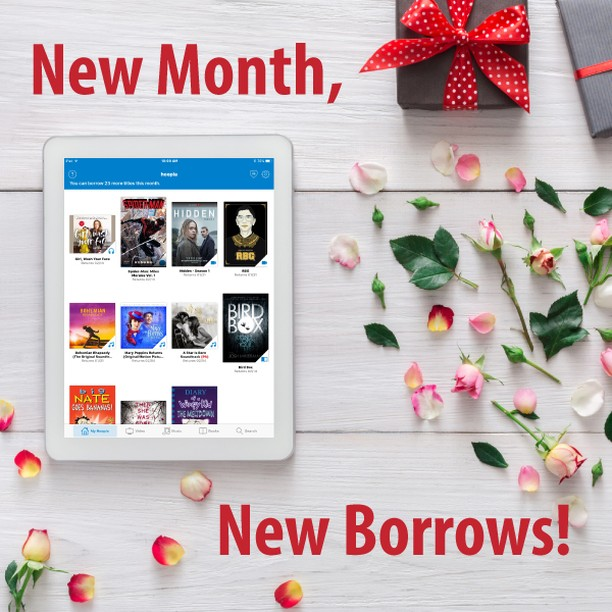 Happy #February1st! Don't forget: New Month, New Borrows! What are you looking forward to borrowing this month?