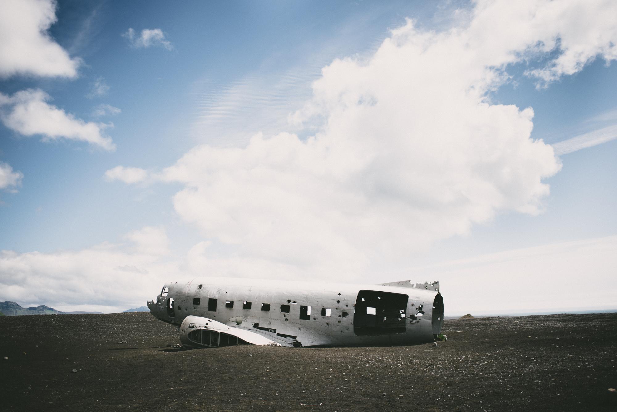 Sólheimasandur plane dc3