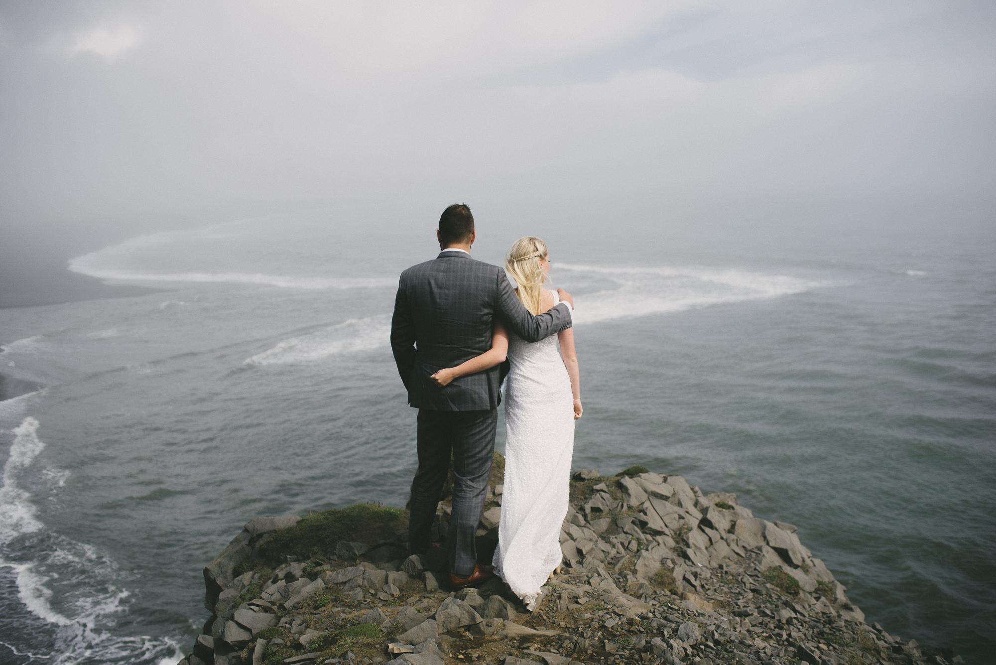 iceland wedding photographer Dyrhólaey