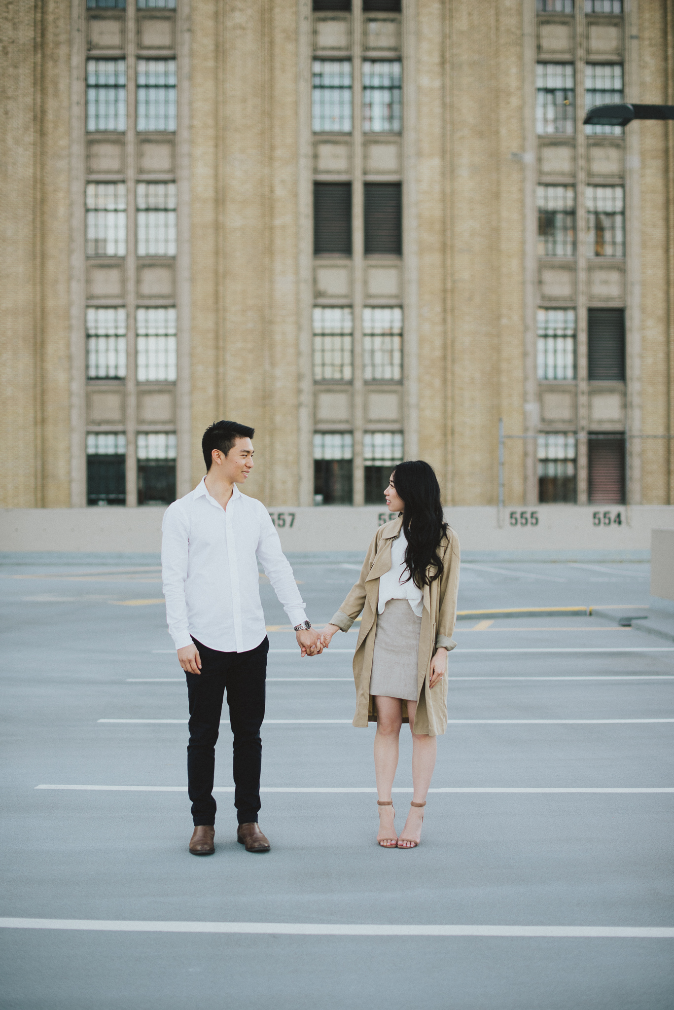 Gastown Parkade Engagement Session