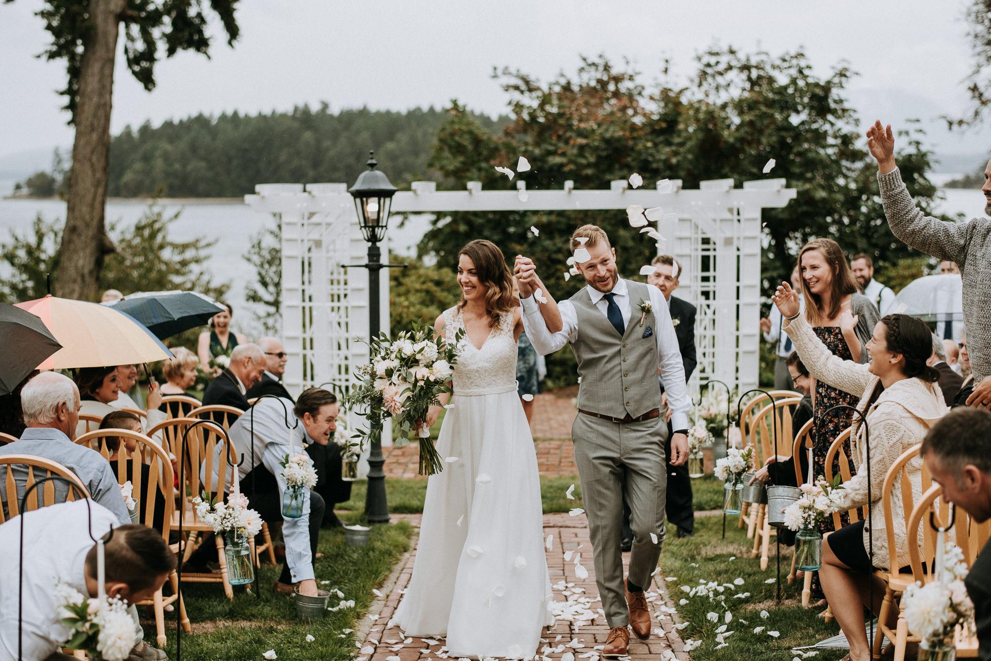 Overbury Resort Wedding Day