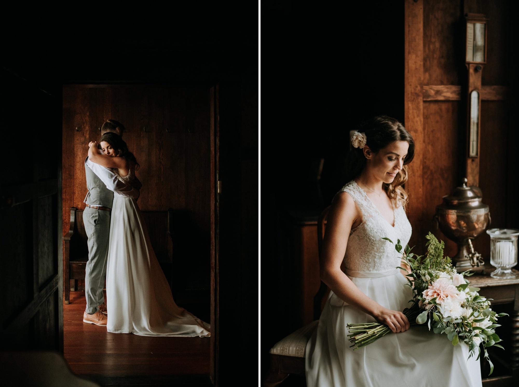 Overbury Resort Wedding Couple