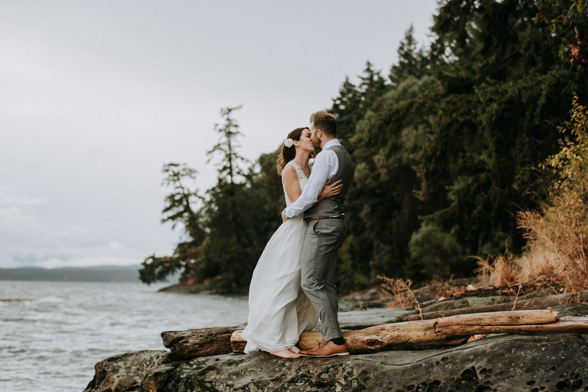 Vancouver Island Thetis Wedding Photography
