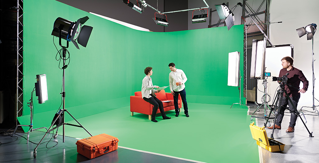 Green Screen Photo Shoot