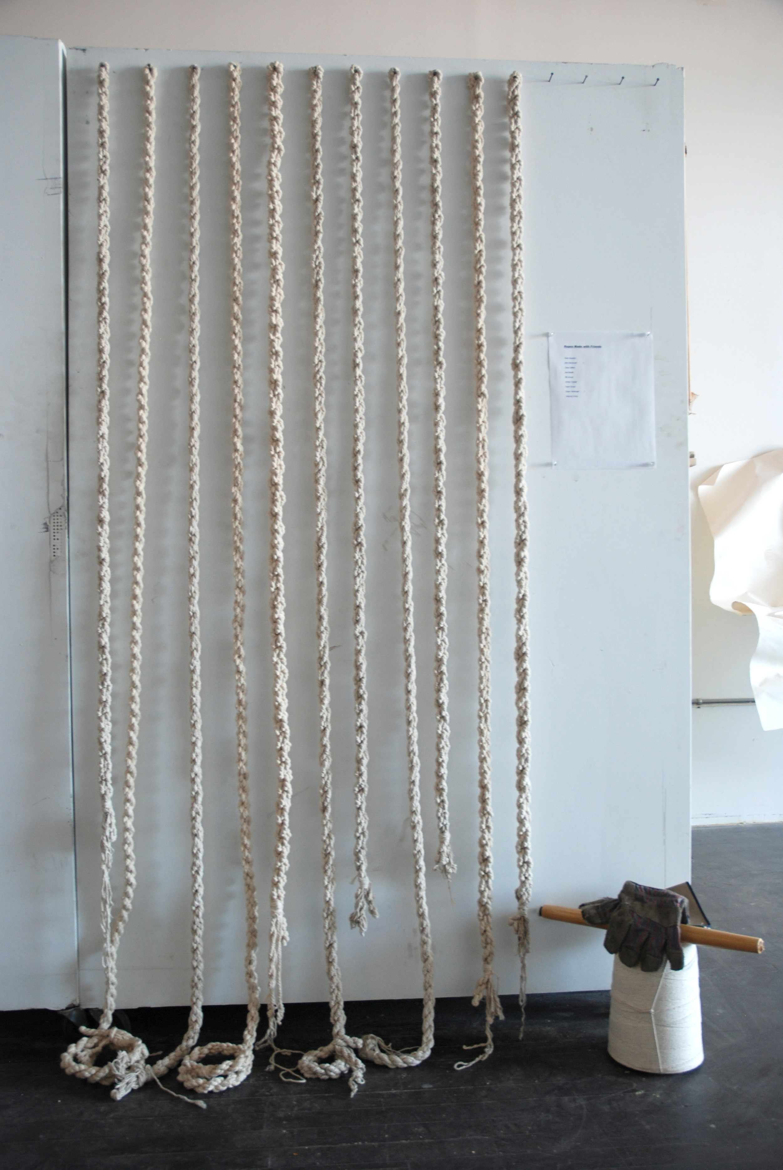 Ropes made with friends, 2011 -
