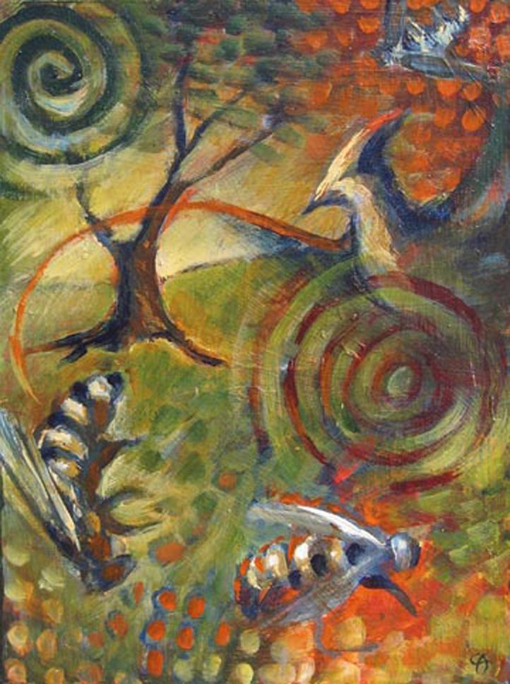 Meditation 7 (Bees)