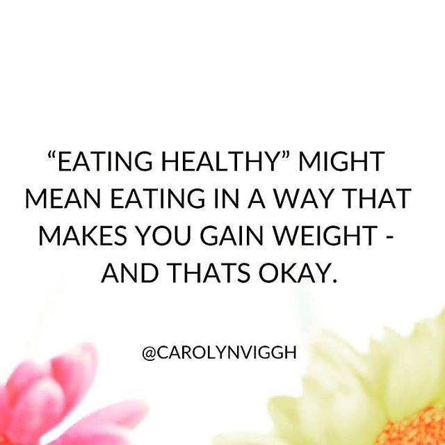 Now that's an uncomfortable truth. Thanks for posting, @girlsgonehealthy_ . . . . . . . . . #uncomfortabletruth #eatinghealthy #cleaneating #weightloss #weightgain #bodyimage #bodypositive #bopo #dieting #nutrition #health