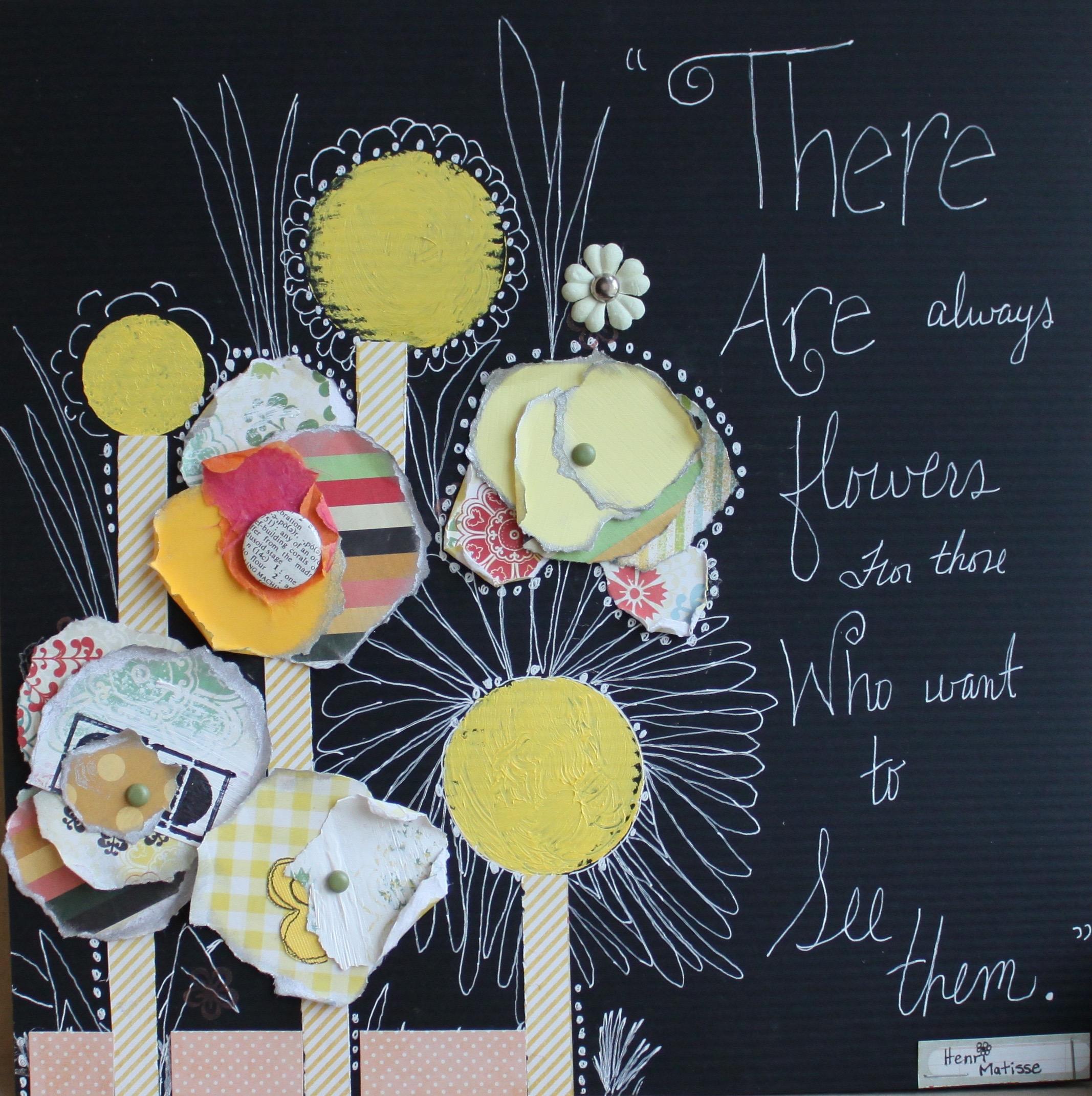 """My take on Renee Stien's """"Seeing Flowers"""""""
