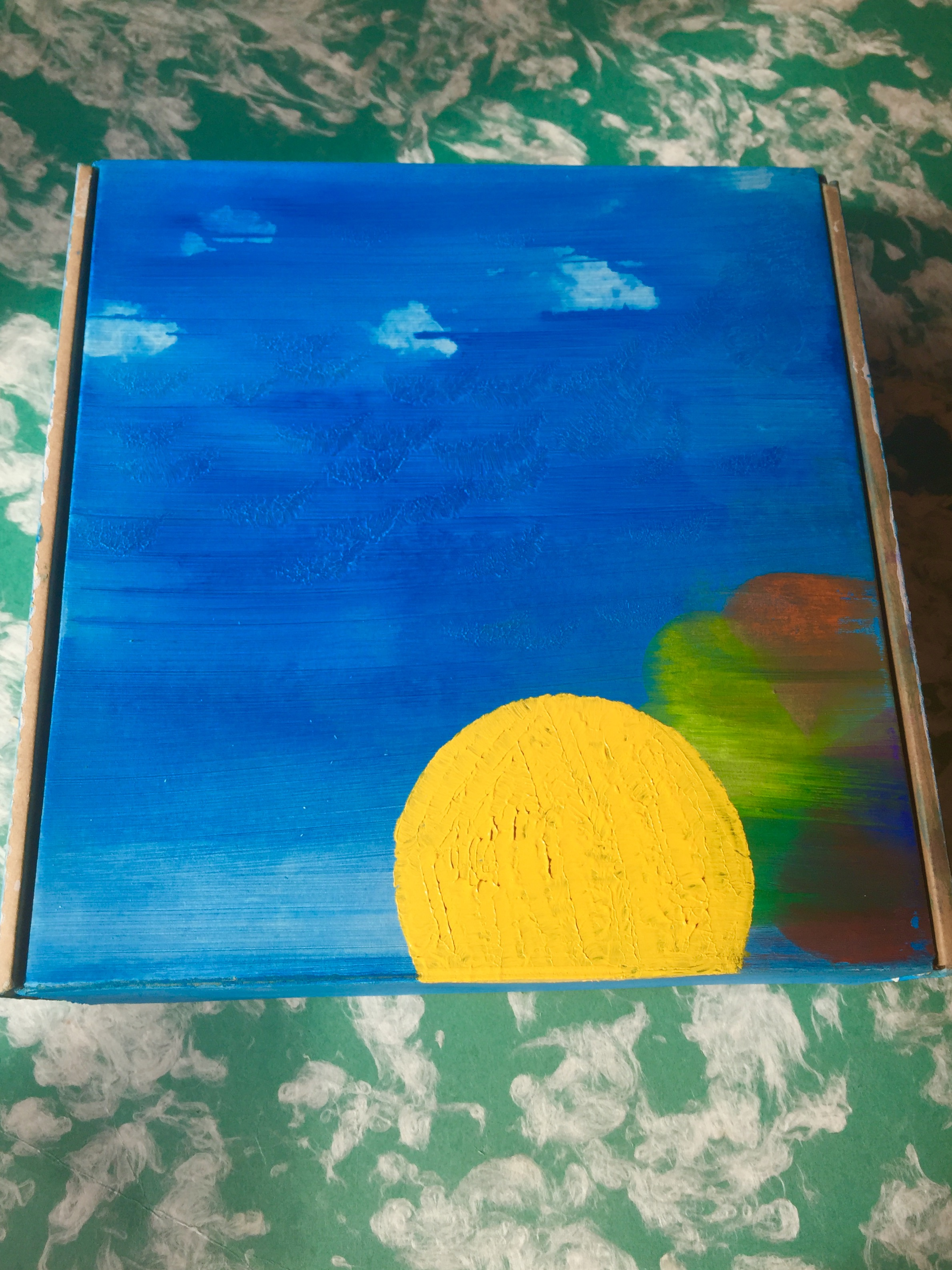 Clear Skies, Smooth Sailing Art Mailer