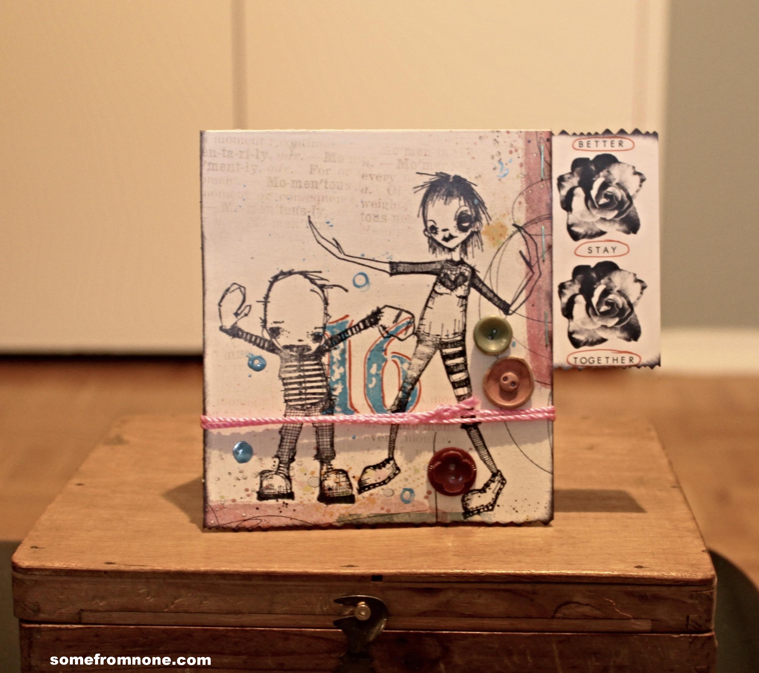 16 Graffiti Card