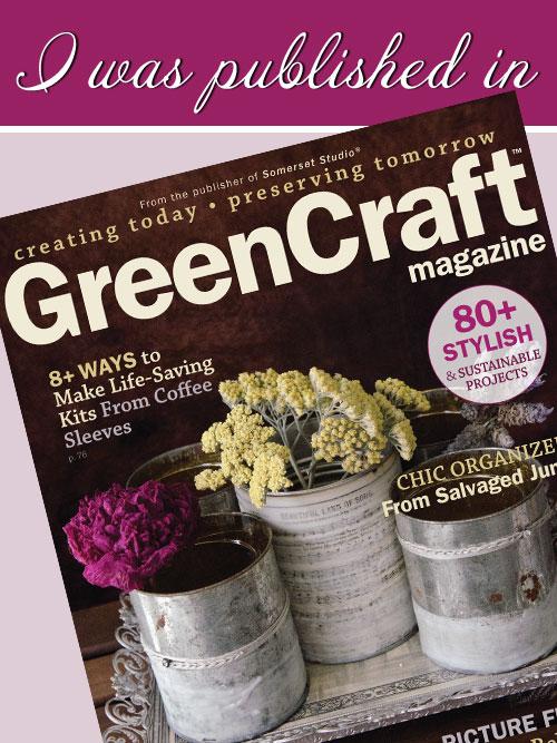 GreenCraft - Spring 2016