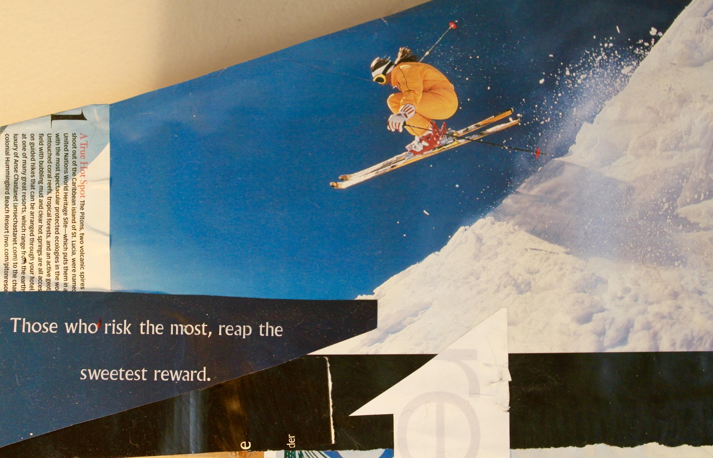 I dream of skiing again.