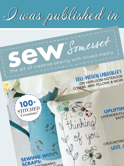 Sew Somerset - Winter 2018