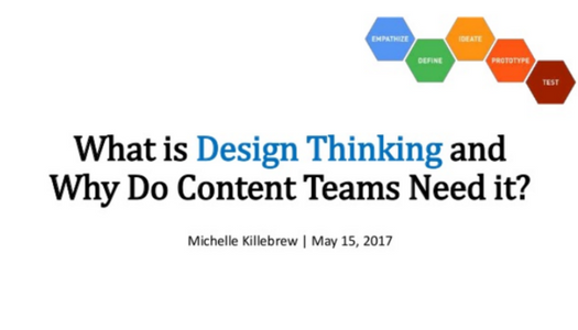 What is Design Thinking and Why Do Content Teams Need It?