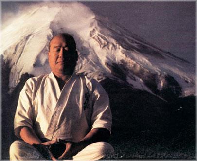 Sosei Mas Oyama, the founder of Kyokushinkai karate