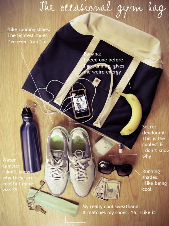 WIMP gym bag