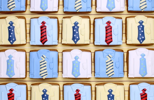 Check out other Father's Day Cookie Ideas from  Eleni's .